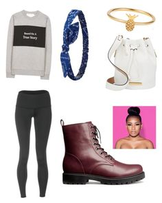 """Untitled #38"" by madison-lxii ❤ liked on Polyvore featuring Être Cécile, H&M, Charlotte Russe, Marc by Marc Jacobs, Lee Renee and teeki"