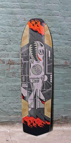 """Longboards USA - Madrid Havoc 2.0 WMD Freeride 38"""" Longboard Deck, $111.00 (http://longboardsusa.com/longboards/freeride-longboards/madrid-havoc-2-0-wmd-freeride-38-longboard-deck/)"""