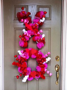 Valentine's Decor Would look great on double doors!!!