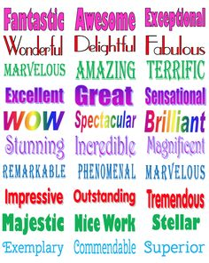 by Simone - Grade Students love getting praise and stickers but sometimes it is hard to find something age appropriate f. Praising Words, Words For Teacher, Affirmations For Kids, Fun Classroom Activities, Teaching 5th Grade, Writing Strategies, Beginning Of School, School Lessons, The Words