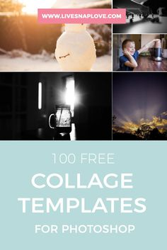 How To Create Collage Templates In Photoshop Elements  Create