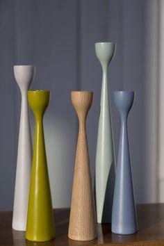 Rolf™ wooden candle sticks, by Maria Lovisa Dahlberg, freemover.se, Åre 13, Sweden
