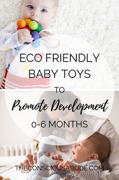 Looking for stimulating baby toys that are non-toxic AND eco friendly? Find the best brands for natural wood, organic cotton, and sustainably made toys. Toddler Toys, Kids Toys, Toys For Babies, Eco Baby, Baby Baby, Baby Ruth, Baby Crib, Baby Monat Für Monat, Organic Baby Toys