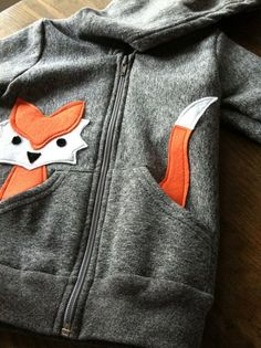 Inspiration :: Children's Fox Hoodie ecofriendly felt by LittleRootedGoods. Inspiration :: Children's Fox Hoodie ecofriendly felt by LittleRootedGoods. Sewing For Kids, Baby Sewing, Diy For Kids, Fashion Kids, Diy Fashion, Fashion Brands, Fashion Shoes, Fashion Design, Sewing Clothes