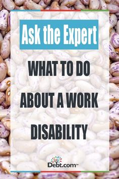 Ask The Expert: What To Do About A Work Disability #creditrepairfordisabled How To Fix Credit, Build Credit, Improve Your Credit Score, Paying Off Credit Cards, Rewards Credit Cards, Capital One Credit Card, Credit Card Machine, Loans For Poor Credit, Rebuilding Credit