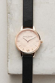 Scalloped Watch - anthropologie.com