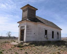 Abandoned church in Taiban, NM. I've been in here and would love to see it renovated. Or not.
