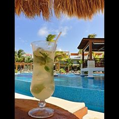Mmm mojitos time at Excellence Playa Mujeres! #Cancun #Mexico #AllInclusiveLuxury This will be my drink of choice!!