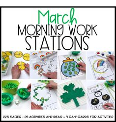 Getting Started With Fine Motor Morning Work Stations - Differentiated Kindergarten Differentiated Kindergarten, Kindergarten Activities, Kindergarten Classroom, Preschool Fingerplays, Classroom Ideas, Classroom Tools, Differentiated Instruction, Classroom Management, Math Stations