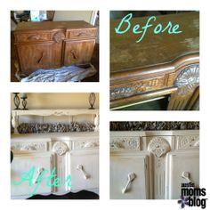 Annie Sloan Chalk Paint DIY Dresser #AustinMomsBlog