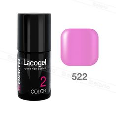 Lakier hybrydowy Lacogel nr 522 - cukierkowy róż 7ml #lacogel #elarto #cukierkowy #róż
