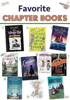 the best of 2015 -- chapter books kids will love!