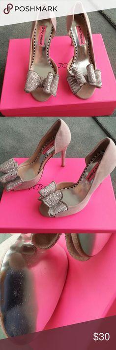 Betsey Johnson glendah heels Worn once in the house Betsey Johnson Shoes Heels