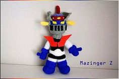 El edén de las mamalidades. Mazinger Z. Amigurumi.