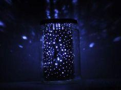 luminária de material reciclável 01