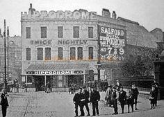 An early photograph of the Salford Royal Hippodrome - Courtesy Roy Cross