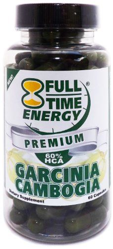 Full-Time Energy Premium Garcina Cambogia - 1500mg of 60% HCA Pure Garcinia Cambogia Extract Plus Per Serving - Best Weight Loss Supplement Natural Belly Fat Burners Diet Pills Complex Product that Really Works Fast for Women and Men Energy Pill Products 60 Capsules - Best Weight Loss USABest Weight Loss USA