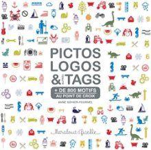 Pictos, Logos Et Autres Tags Au Point De Croix  isbn : 9782501072625