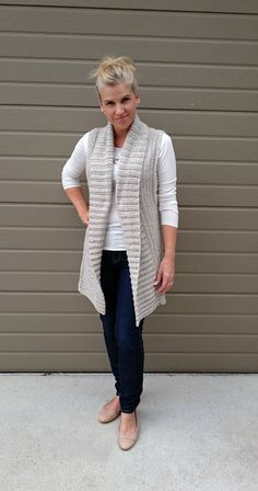 Make your own using my pattern! This listing is for my new shawl collar long vest crochet pattern. This pattern is offered for sale as a digital file (pdf), available for you to download directly from Etsy once your payment has been processed. Please note, you are not buying a vest,