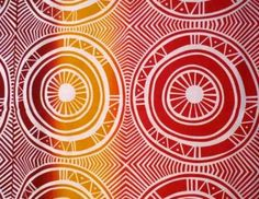 Tiwi Island Art. Fabric