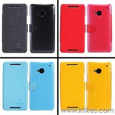 Nillkin Fresh Leather Case HTC One M7 - Rp 135.000 - kitkes.com