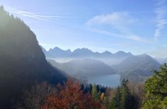Photo I took looking over the Alpsee Germany and into Austria  #landscape #photo #looking #alpsee #germany #austria #photography