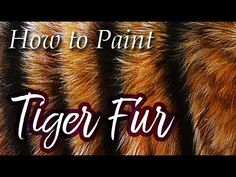 Tiger and water reflection painting in Acrylics - Lachri Acrylic Painting Tutorials, Painting Videos, Painting Lessons, Painting Techniques, Painting Fur, Tiger Painting, Paintings Famous, Animal Paintings, Oil Painting Background