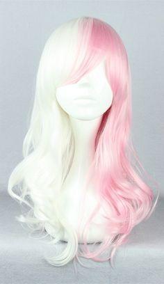 Cosplay Hair, Cosplay Wigs, Costume Wigs, Anime Costumes, Anime Cosplay, Cosplay Costumes, Kawaii Hairstyles, Wig Hairstyles, Wig Styles