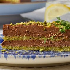 steliosparliaros sweetalchemy glykesalchimiesofficial pastry chocolate pistachio greece oliveoil love Food And Drink, Chocolate, Love, Desserts, Amor, Tailgate Desserts, Deserts, Chocolates, Postres