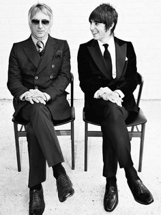 "Weller and Kane in ""Mod in England - Sartorial Kicks"""