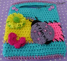 """It's a Summer thing! """"Kids Purse & Tote pattern by Nancy Dickinson   Definitely my next project"""