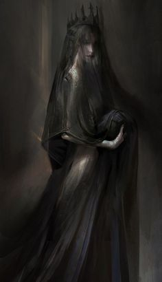 Everything mythology has recorded about Persephone is wrong. She is as shrouded . - Everything mythology has recorded about Persephone is wrong. She is as shrouded … – - Dark Fantasy Art, Fantasy Kunst, Fantasy Artwork, Dark Artwork, Arte Horror, Horror Art, Hades Und Persephone, Art Noir, Dark Queen