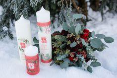 Rustikale Winterhochzeit in Rot und Grün | Hochzeitsblog The Little Wedding Corner