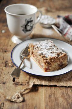 strawberry jam east coast coffee cake by Celine Steen via Flickr