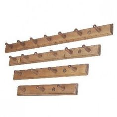 Penny Pine Traditional Pine Pegs - available as a 6 & 7 peg Pine Kitchen, Plate Racks, Rack Shelf, Wooden Walls, Kitchenware, Kitchen Ideas, Shelves, Plates, Traditional