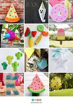 12 ideas de piñata - Partyculars