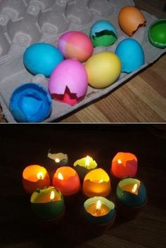 Eggshell Luminaries
