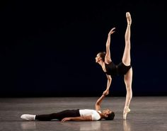 Maria Kowroski and Amar Ramasar in Agon,New York City Ballet