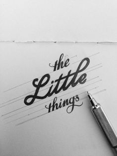 The Little Things by James Worton.