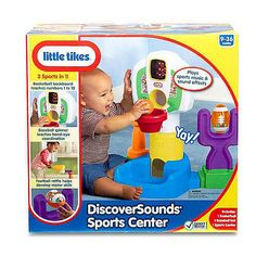 Little Tikes DiscoverSounds Sports Center $29.99