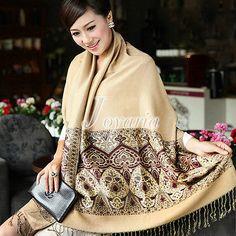 Fashion Women Cashmere Long Scarf Soft Wrap Shawl Stole Large Size 27.56-78.74″ – Girl Next Door Fashion
