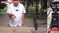 Dedektör ile gerçek arazide altın testi - YouTube
