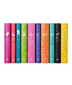 Puffin Classics Set for Young Readers on AHAlife Classic Literature, Classic Books, Children's Literature, My Books, Books To Read, Reading Books, Book Spine, Penguin Classics, Flower Girl Gifts