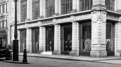London's Historic Shops and Markets: Burberry's, 18-22 Haymarket, SW1 circa 1913