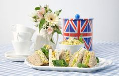 Lovely Coronation Chicken fit for a Queen!