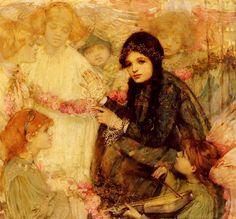 Кокерель, Кристабель - И ангелы были ее друзьями в детских играх. Голландские художники