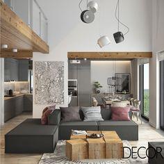Projeto de interiores reproduz uma atmosfera leve e acolhedora em tons de cinza e rosa no loft. Arejada, a unidade possui amplas aberturas que permitem admirar o entorno natural.