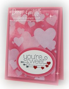 You're Sweet Heart Bokeh card #1