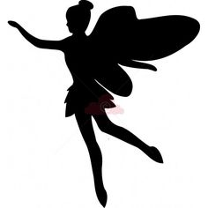 Free SVG Files for Silhouette | Fairy SVG File | Card Making and Crafts Supplies | Crimson Cloud