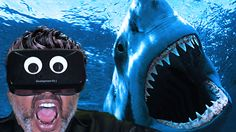 SHARK ATTACK VR !!! -- BEST VIRTUAL REALITY!!! Oculus Rift - BEST VR gam...